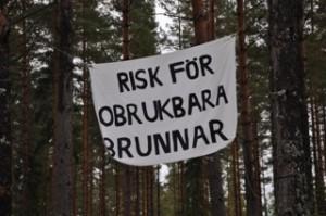 Risk för gruva