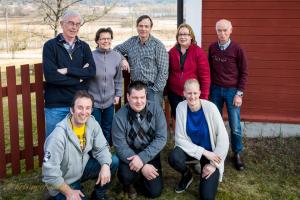 Fr v Stig Hammarsten, Denise Fahlander, Mattias Degervall, Ann Horn, Hans Levander. Nedre raden Daniel Ekbolm, Stefan Persson och Carolina Klüft (riksstyrelsens repr.)